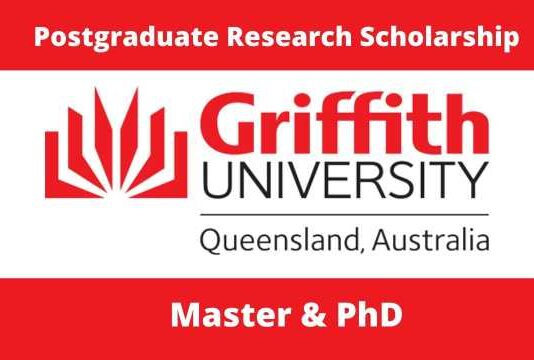 Griffith University International Postgraduate Research Scholarship