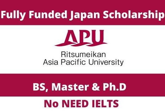 MEXT Asia Pacific University Japanese Government Scholarship