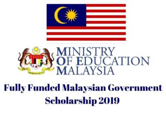 Malaysian Government Scholarship