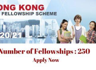 Hong Kong PhD Fellowship Scheme Program