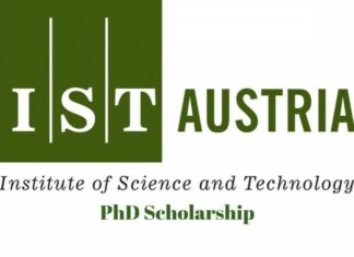 Institute of Science and Technology Austria PhD Scholarship