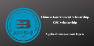 Beijing University of Technology CSC Scholarship