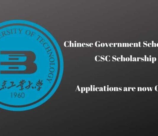 Beijing University of Technology CSC Scholarship