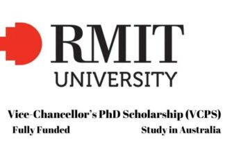 Vice Chancellor PhD Scholarship at RMIT University