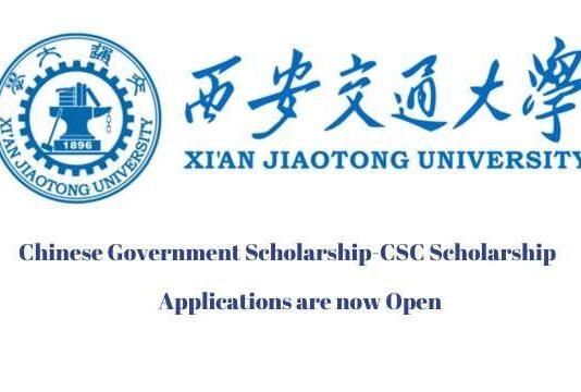Xian Jiaotong University CSC Scholarship