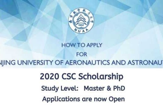 Nanjing University of Aeronautics and Astronautics CSC Scholarship