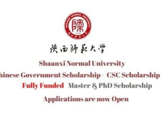 Shaanxi Normal University CSC Scholarship