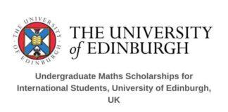 University of Edinburgh Undergraduate Math Scholarship