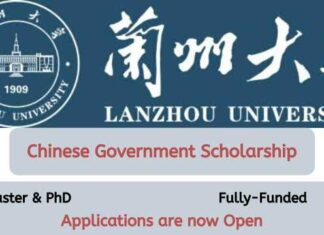 Lanzhou University Chinese Government Scholarship