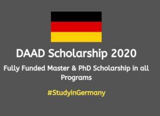 DAAD Scholarship 2020
