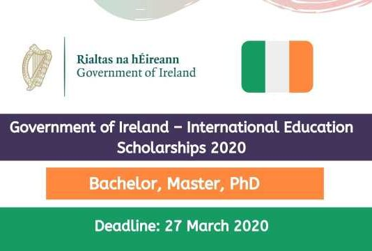Government of Ireland International Education Scholarships