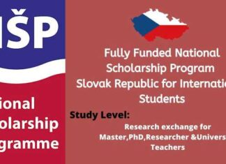 National Scholarship Program of the Slovak Republic