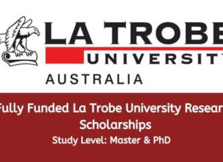 La Trobe University Research Scholarships