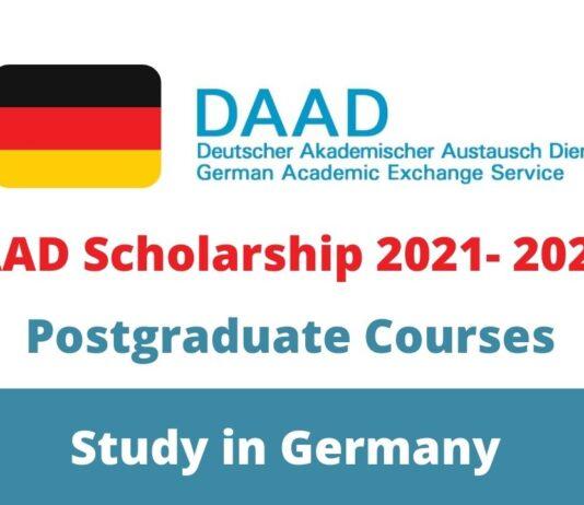 DAAD Scholarship 2021