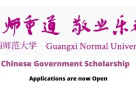 Guangxi Normal University Chinese Government Scholarship