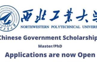 Northwestern Polytechnical University Chinese Government Scholarship