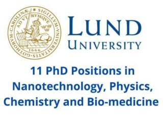 PhD Position at LUND University