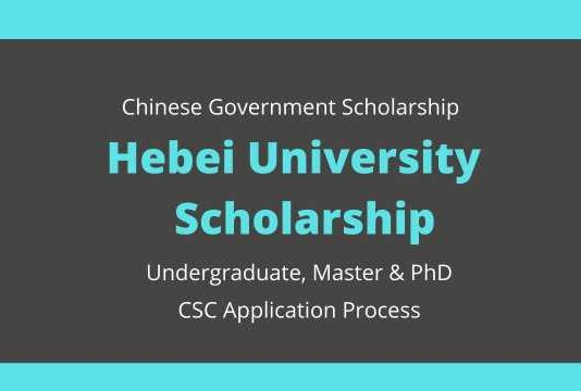 Hebei University Chinese Government Scholarship