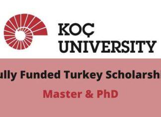 Koc University Turkey Scholarship