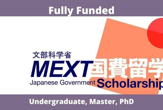 MEXT Japanese Government Scholarship