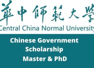 China Central Normal University Chinese Government Scholarship