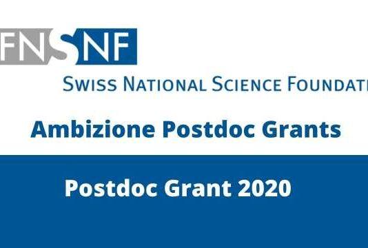 Ambizione Postdoc Grants