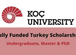 Koc University Turkey Scholarship