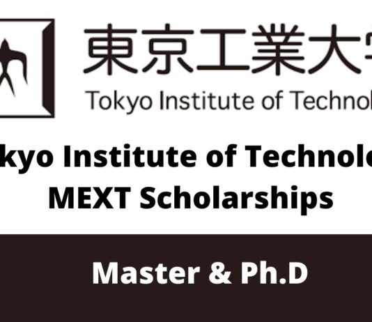 Tokyo Institute of Technology MEXT Scholarships